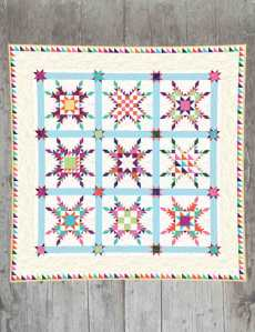 "Star of Chamblie    Feathered Star Productions  67½"" x 67½""  Pattern"